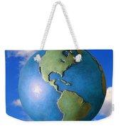 A Globe In The Sky Weekender Tote Bag