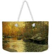 A Golden Autumn At The Unami Weekender Tote Bag