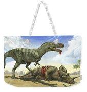 A Gorgosaurus Libratus Stands Weekender Tote Bag