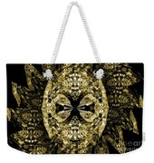 A Gothic Guise Of Gold Weekender Tote Bag