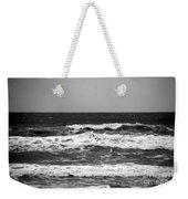 A Gray November Day At The Beach - II  Weekender Tote Bag