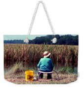 A Great Day Fishing Weekender Tote Bag