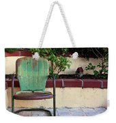 A Green Chair Weekender Tote Bag