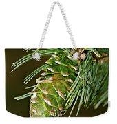 A Growing Pine Cone Weekender Tote Bag