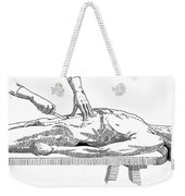 A Handbook Of Morbid Anatomy Weekender Tote Bag