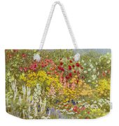 A Herbaceous Border Weekender Tote Bag