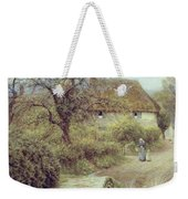 A Hill Farm Symondsbury Dorset Weekender Tote Bag by Helen Allingham