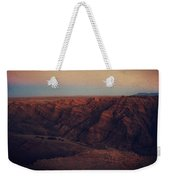 A Hot Desert Evening Weekender Tote Bag