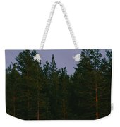 A Huge Moon, With Features Clearly Weekender Tote Bag
