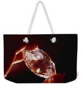 A Huge Nine-carat Diamond Glistens Weekender Tote Bag