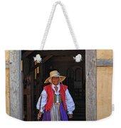 A Jamestown Colonist Weekender Tote Bag