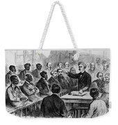 A Jury Of Whites And Blacks Weekender Tote Bag