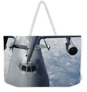 A Kc-10 Extender Prepares To Refuel Weekender Tote Bag by Stocktrek Images