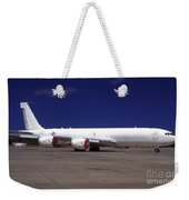 A Kc-135 Stratotanker At Hickham Air Weekender Tote Bag
