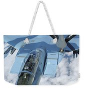A Kc-135 Stratotanker Provides Weekender Tote Bag