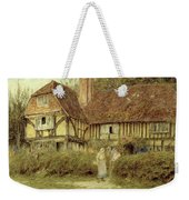 A Kentish Cottage Weekender Tote Bag