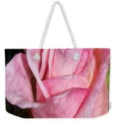 A Kiss By A Rose Weekender Tote Bag