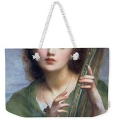 A Lady With Lyre Weekender Tote Bag