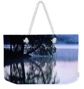 A Large Tree Grows At The Edge Weekender Tote Bag