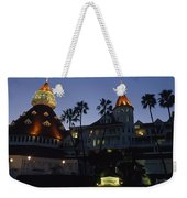 A Late Afternoon View Of The Hotel De Weekender Tote Bag