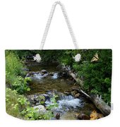 A Lazy Summer Day On Mt Spokane Weekender Tote Bag