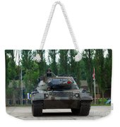 A Leopard 1a5 Mbt Of The Belgian Army Weekender Tote Bag by Luc De Jaeger