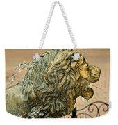 A Lion In Summer Weekender Tote Bag