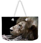 A Lions Portrait Weekender Tote Bag