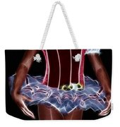 A Little Lady In A Tutu Weekender Tote Bag