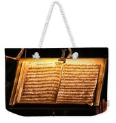 A Little Night Music Weekender Tote Bag by Lauri Novak