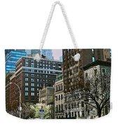 A Little Slice Of New York Weekender Tote Bag
