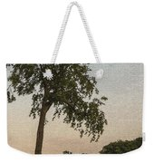 A Lonely Park Bench Weekender Tote Bag