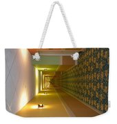 A Long Hallway Flipped Sideways Weekender Tote Bag