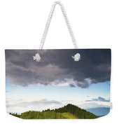 A Lush Green Landscape With Grassy Weekender Tote Bag