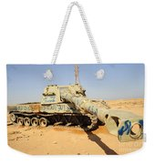 A M109 Howitzer Destroyed By Nato Weekender Tote Bag