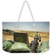 A M240b Medium Machine Gun Weekender Tote Bag