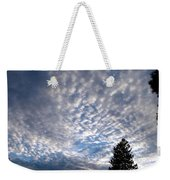 A Mackerel Sky Weekender Tote Bag