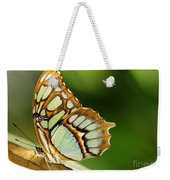 A Malachite Butterfly Weekender Tote Bag