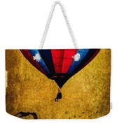 A Man And His Balloon Weekender Tote Bag by Bob Orsillo