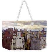 A Manhattan View Weekender Tote Bag