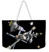 A Manned Mars Landerreturn Vehicle Weekender Tote Bag