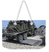 A Medium Tactical Vehicle Replenishment Weekender Tote Bag