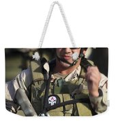 A Military Reserve Navy Seal Gives Weekender Tote Bag