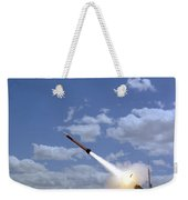 A Mim-104 Patriot Anti-aircraft Missile Weekender Tote Bag