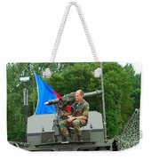 A Mistral Surface To Air Missile Sam Weekender Tote Bag by Luc De Jaeger