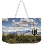 A Morning In The Desert  Weekender Tote Bag