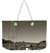 A Moving Memory Monochrome Weekender Tote Bag