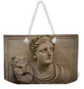 A Nabatean Bust Of A Woman Holdig Weekender Tote Bag