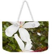 A Native Hawaiian Hibiscus Arnottianus Weekender Tote Bag