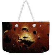 A Nebula Evaporates In The Far Distance Weekender Tote Bag by Brian Christensen